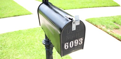 What Are The Requirements For A Curbside Mailbox Today
