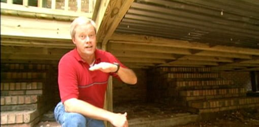 How To Build A Storage Area Under A Deck Today S