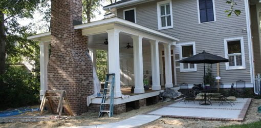Building A Back Porch Addition On A Historic Home Today