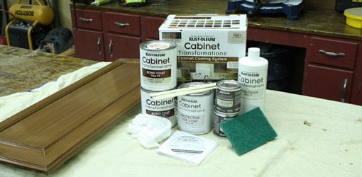 Rust Oleum Cabinet Transformations Painting Kit Today S