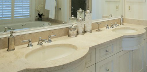 Bathroom Vanity Countertop Options Today S Homeowner
