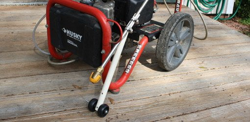 Diy Pressure Washer Wand Roller Guide Today S Homeowner