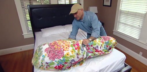 How To Put A Comforter Inside A Duvet Cover Today S