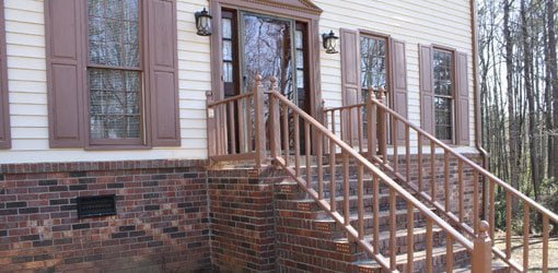 Home Entry Makeover Door And Stair Repair Today S Homeowner