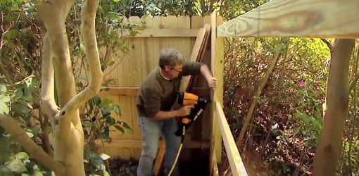 Garage Cooling Fans >> Wooden Fence Building Tips | Today's Homeowner