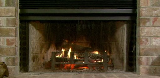 Garage Cooling Fans >> Improving the Heating Efficiency of a Fireplace | Today's Homeowner