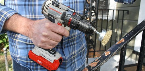 How To Stop Rust When Painting Wrought Iron Railings