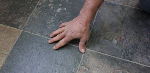 Installing Tile Over Vinyl Flooring On Wood Or Concrete