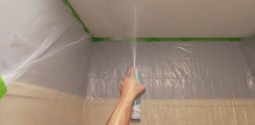 Repairing Orange Peel Wall Texture And Popcorn Ceilings