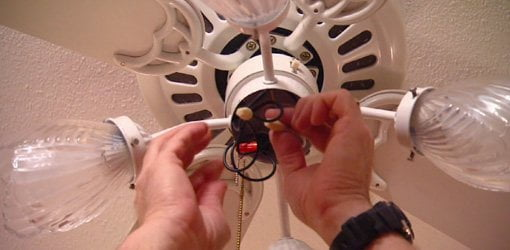 How To Fix A Paddle Ceiling Fan Light Switch Today S