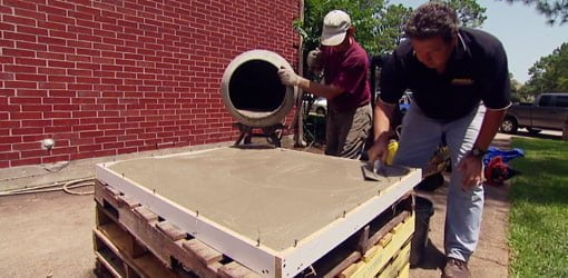 How To Make A Diy Concrete Countertop Today S Homeowner