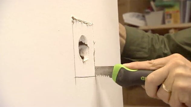 How To Patch A Hole In Drywall Today S Homeowner