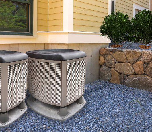 Air conditioner condenser units