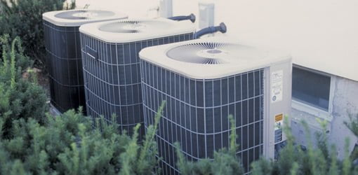Central air conditioner units