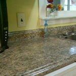 Plastic laminate countertop