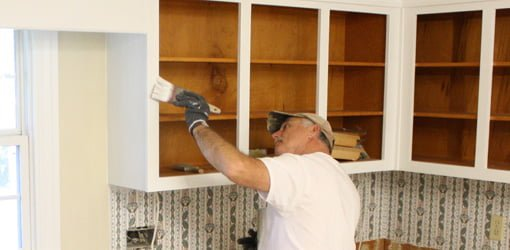 Painting existing cabinets