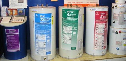 Choosing a Hot Water Heater