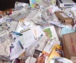 Waste paper.