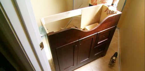 How To Install A Bathroom Vanity Today S Homeowner