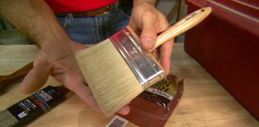 Quality natural bristle brush.