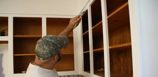 How to Paint Kitchen Cabinets | Today\'s Homeowner