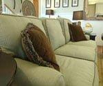 sofa made of environmentally safe material
