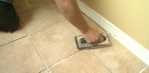How To Ly And Seal Grout On Tile Floors Today S Homeowner
