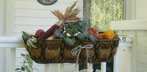 Fall window box