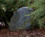 yard speaker that looks like a rock