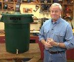 Homemade Rain Barrel