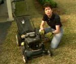 lawnmower and Tricia