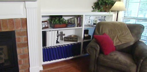 How To Build A Built In Bookcase In Your Home Today S