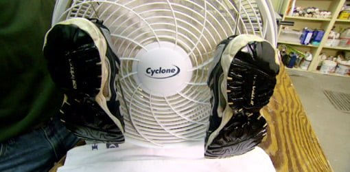 Tip for Drying Shoes