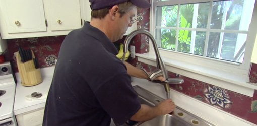 How To Replace A Kitchen Faucet Today S Homeowner