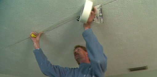 How To Repair S In A Drywall Ceiling Today Homeowner