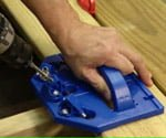 hidden fastener deck jig