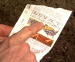 using your finger to plant seeds