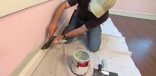 Drywall Knife Paint Shield