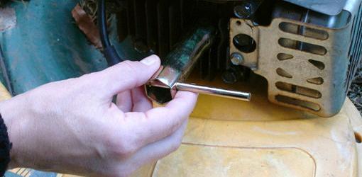 Step 3: Remove Spark Plug