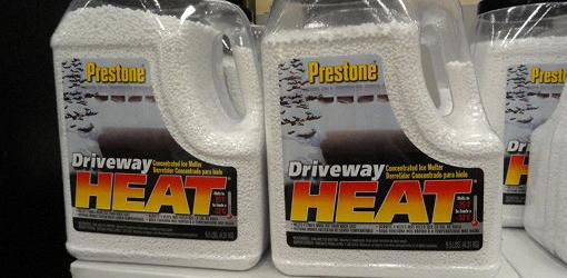 Container of Driveway Heat deicer