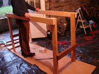 Assembling a workbench