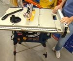 Ryobi Table Saw with QuickStand