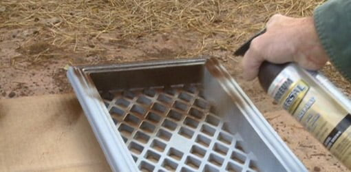 How To Paint Cast Iron Foundation Vent Grates Today S