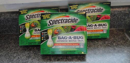 Packages of Japanese Beetle traps