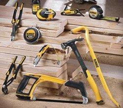 DeWalt hand tools on display