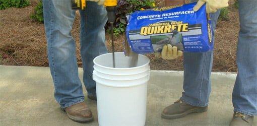 How Resurface Concrete Slab