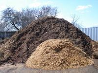 Mulch sold by the cubic yard