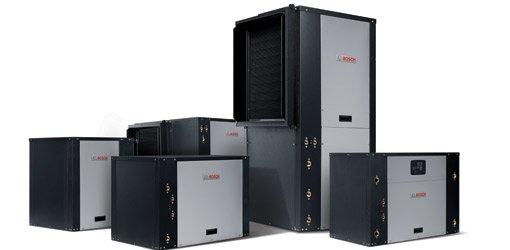 Bosch geothermal heat pump units