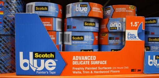 Rolls of ScotchBlue Painter's Tape for Delicate Surfaces