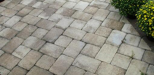 How To Install Pavers Over A Concrete Patio Without Mortar Today S Homeowner